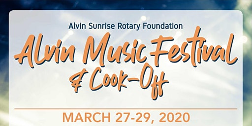 Alvin Music Festival 2020 Tickets