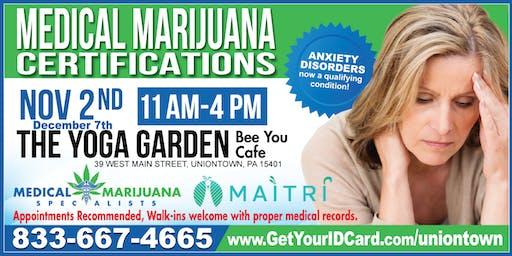 Medical Marijuana Certifications, Uniontown