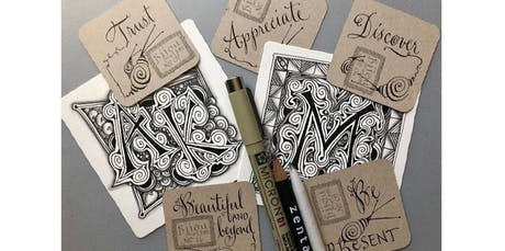 Zentangle: Zenbedded Letters (03-01-2020 starts at 2:00 PM) tickets