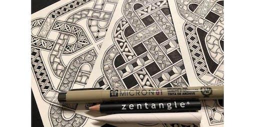 Zentangle: Celtic Knots (2020-03-15 starts at 2:00 PM)