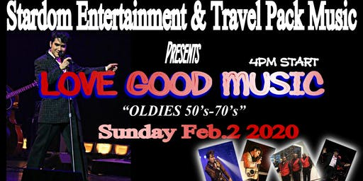 Do you love 50's-70's music, a tribute mini concert for the good old days!
