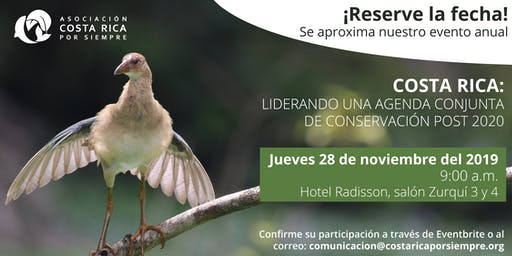 COSTA RICA: LIDERANDO UNA AGENDA CONJUNTA DE CONSERVACIÓN POST 2020