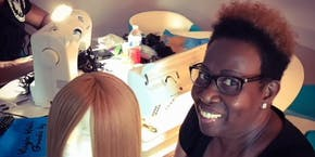 Jacksonville, Fl.|Enclosed Wig Making Class with Sewing Machine