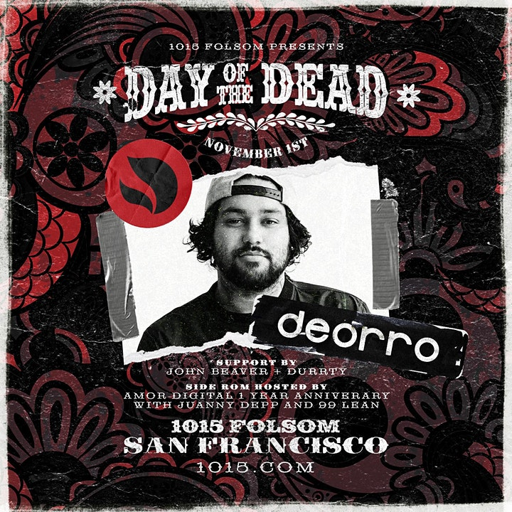 Day of the Dead w/ DEORRO  at 1015 FOLSOM image