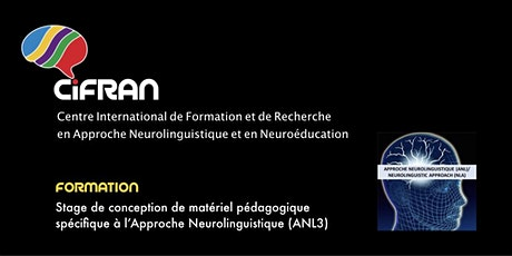 ANL3 - Québec - Stage de conception de matériel pédagogique spécifique à l'ANL  billets