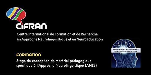 ANL3 - Québec - Stage de conception de matériel pédagogique spécifique à l'ANL
