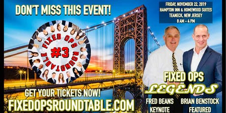Ted Ings presents: Fixed Ops Roundtable 3 in North Jersey! tickets