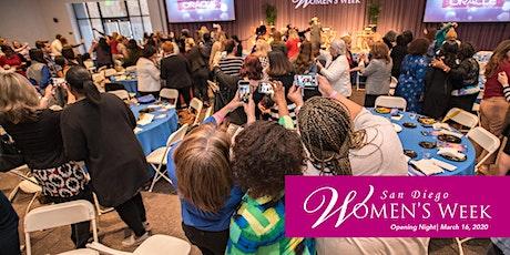 San Diego Women's Week | Opening Night tickets