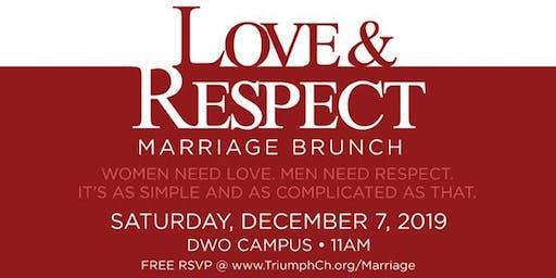 Triumph's Love & Respect Marriage Brunch