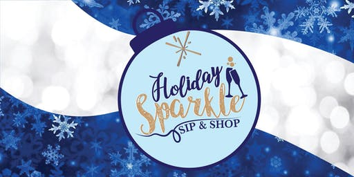 Holiday Sparkle Sip & Shop