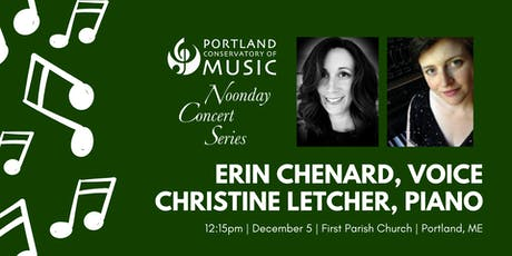 Noonday Concert Series: Erin Chenard and Christine Letcher tickets