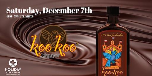 #FREEsips | Koo Koo Chocolate Liqueur