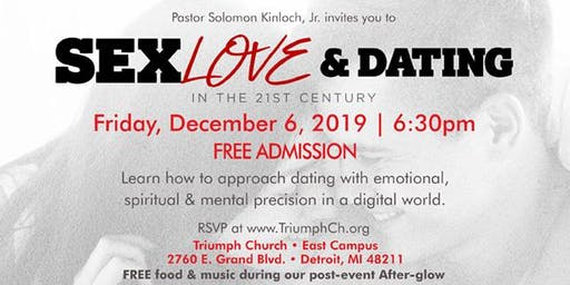 Triumph's Singles Ministry presents Sex, Love & Dating