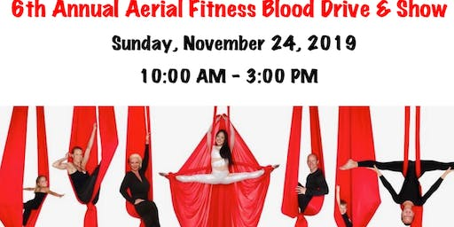6th Annual Aerial Fitness Blood Drive & Show with Vitalant