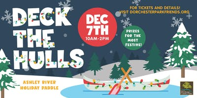 2019 Deck the Hulls Ashley River Holiday Paddle