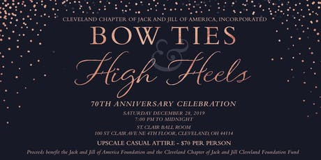 Bow Ties and High Heels, Cleveland Jack and Jill 70th Anniversary Party tickets