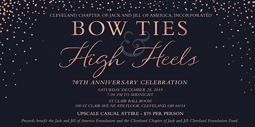 Bow Ties and High Heels, Cleveland Jack and Jill 70th Anniversary Party