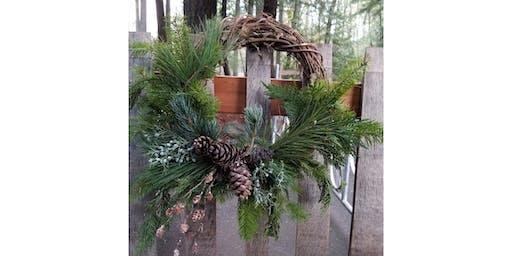 12/5 - Holiday Wine & Wreath @ Bridge Press Cellars, SPOKANE