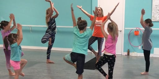 YOGAPL3Y Class for Ages 6-9