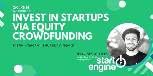 Invest in Startups via Equity Crowdfunding