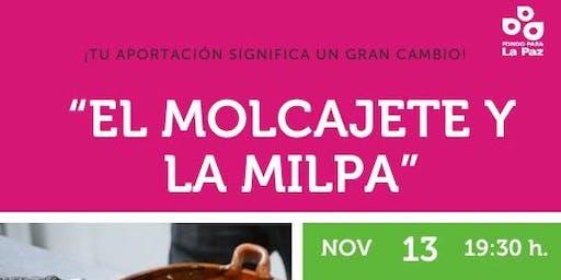"""Taller de salsas """"El Molcajete y la milpa"""""""
