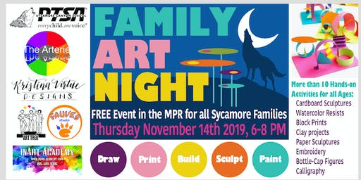 2019 PTSA Family Art Night