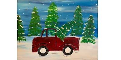 The Brick Tap & Tavern - Tree Pickup - Paint Party