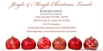 Jingle & Mingle Business Christmas Lunch & Networking 2019
