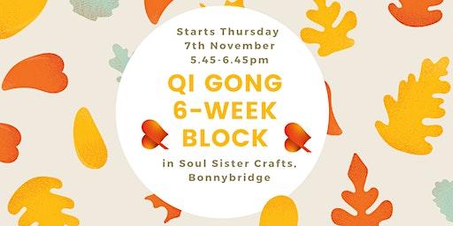 Qi Gong - 6-Week Block -Bonnybridge - Individual Sessions