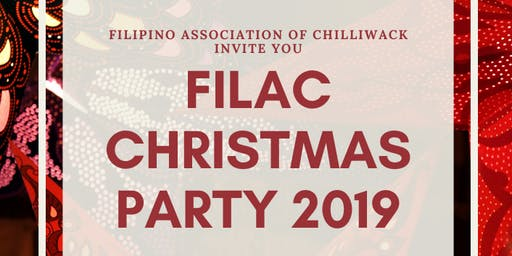 FILAC Christmas Party 2019 - Christmas In Our Hearts