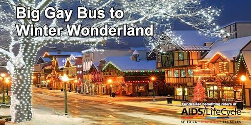 Big Gay Bus to Winter Wonderland in Leavenworth