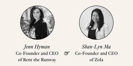 Rent the Runway Boston Presents: Jenn Hyman and Shan-Lyn Ma