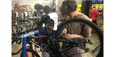 Aquire bike mechanic skills while earning a bike with Bikes Not Bombs.