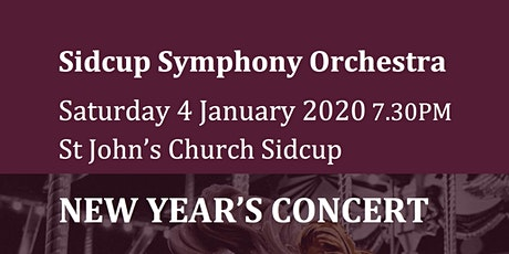 Sidcup Symphony Orchestra New Year's Concert tickets
