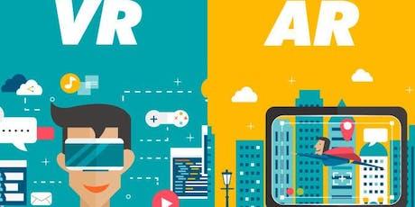 Workshop di VR-Realtà Virtuale e AR-Realtà aumentata biglietti