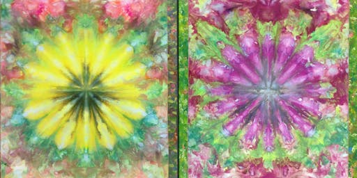 Ice Dyed Blooms (2-day Workshop)