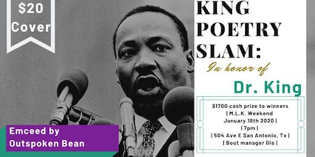 3rd Annual MLK Poetry Slam tickets