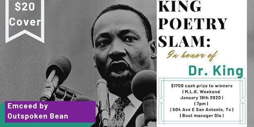 3rd Annual MLK Poetry Slam
