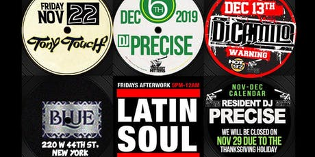 Latin Soul Fridays at The Ribbon tickets