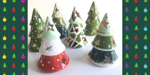 Christmas Pottery Painting at Zuni Street Brewing Company (11/13)