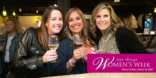 San Diego Women's Week | Women and Wine