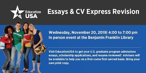 Essays & CV Express Revision