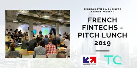 French Fintech Tour // Pitch Lunch tickets
