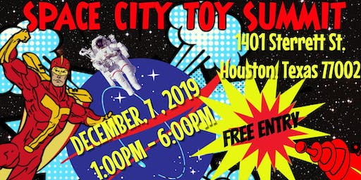 Space City Toy Summit VENDOR Ticket
