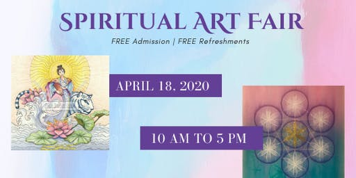Spiritual Wall Art Fair - Come check it out!