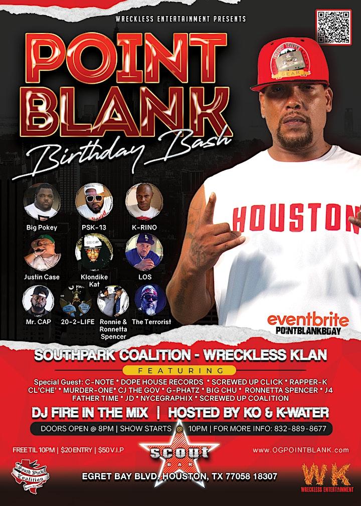 Point Blank Birthday Bash image