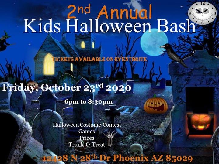 Phoenix Halloween Events 2020.Kids Halloween Bash 2020