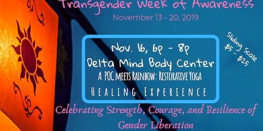 Trans Awareness Week: A POC meets Rainbow Healing Experience