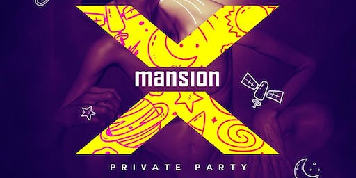 X mansion private party
