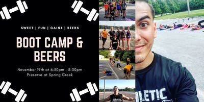 Boot camp & Beers